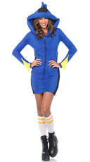Yandy Cozy Blue Fish Costume - Blue