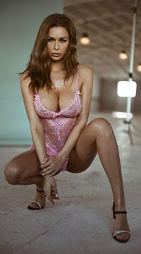 Yandy Playtime Babydoll Set - Light Pink