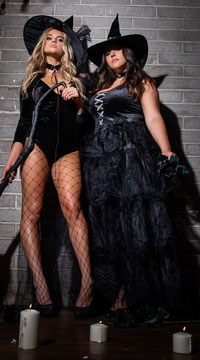 Bewitching Babes Couples Costume - as shown