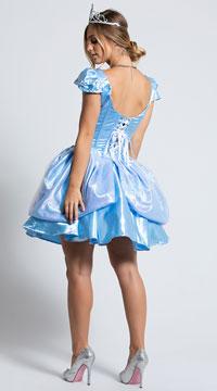 Yandy Sexy Cindy Costume - Blue