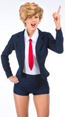 Yandy Donna T. Rumpshaker Costume - Navy Blue