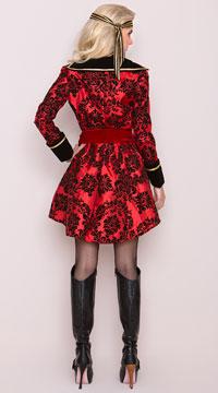 Yandy Pirate Babe Costume - Red