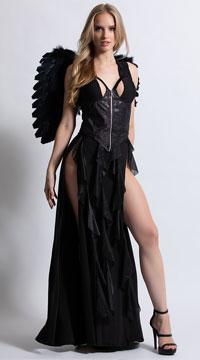 Yandy Dark Angel Costume - Black