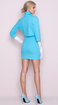 Yandy Model Wife Costume - Blue