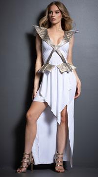 Yandy Sexy Dragon Warrior Costume - as shown