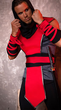 Yandy Men's Lethal Assassin Costume - as shown