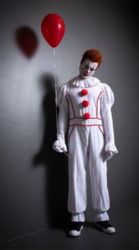 Yandy Men's Dancing Sewer Clown Costume - as shown