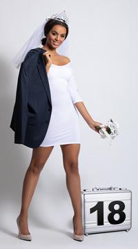Yandy American Princess Costume - White