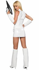 Yandy White Soldier Costume - as shown