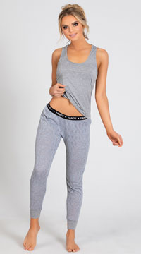 Yandy Casual Cutie Lounge Set - Grey