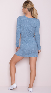 Yandy Casual Active Dress - Blue