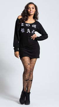 Yandy Zombae Dress Costume - Black