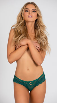 Yandy Affection Cheeky Panty - Green