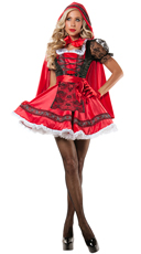 Yandy Sweet Little Red Costume - Red