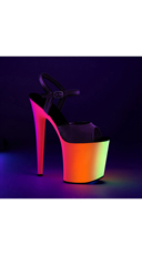 Neon Love Platform Sandal - as shown