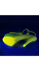 Neon UV Reactive Sky Platform - Neon Yellow/Yellow