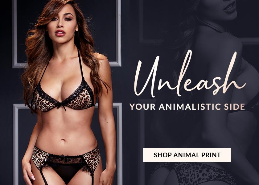 Animal Print Lingerie